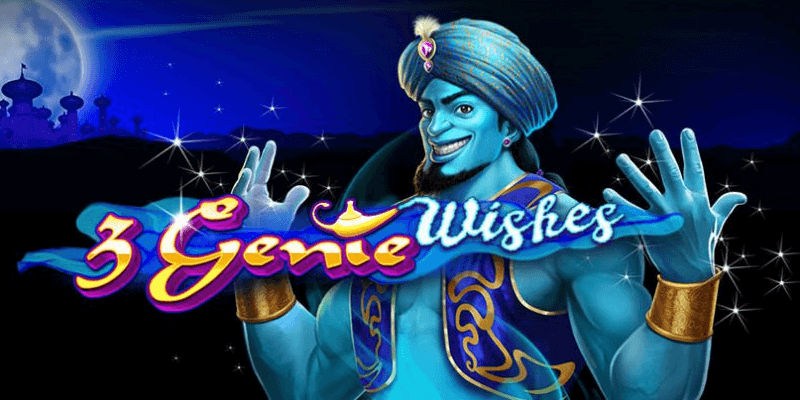 3 Genie Wishes Casino Logo