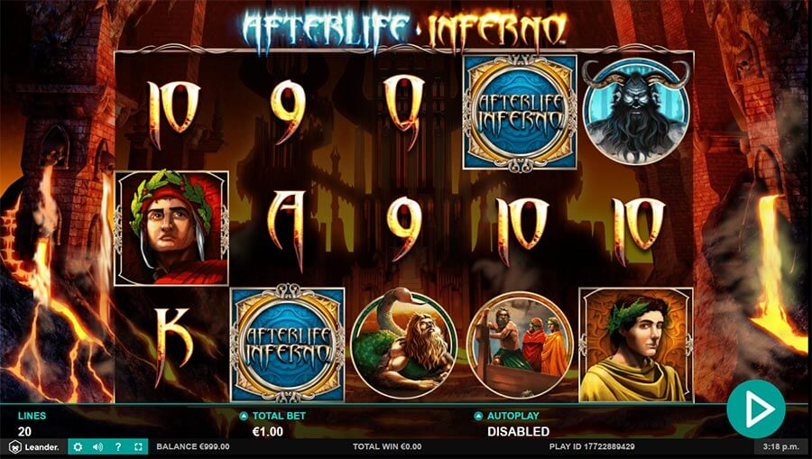Afterlife Inferno Slot Bonus