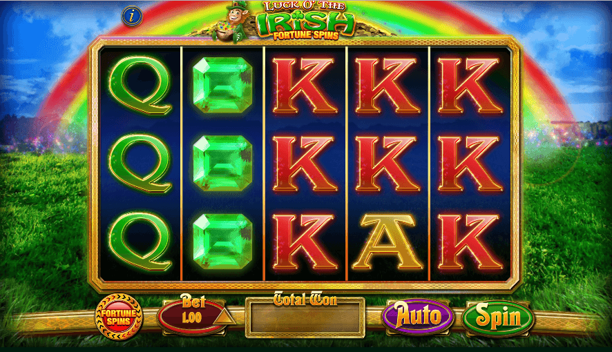 Lucky Irish slot gameplay
