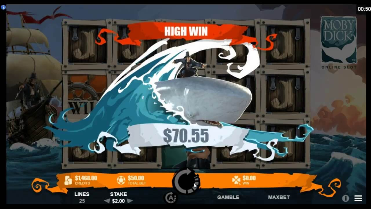 Moby Dick Slot Bonus